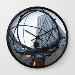 Rockfeller Center Wall Clock