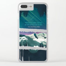 Heaven Sent Clear iPhone Case