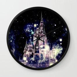 Celestial Palace Amethyst Wall Clock