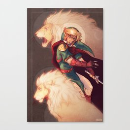 Prince of Lions Canvas Print