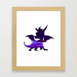 Spyro Crystal Islands Skybox Framed Art Print