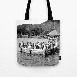 Waiting at Silver Bay (1906) Tote Bag