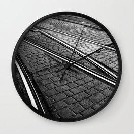 Evening Commute Wall Clock