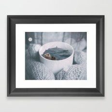 Otta Have A Cup Framed Art Print