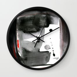 Expressions No. 1 by Kathy Morton Stanion Wall Clock