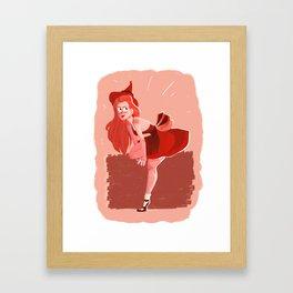 Ginny Weasley Framed Art Print
