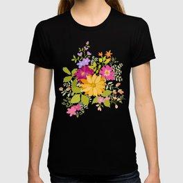 Bold Flowers T-shirt
