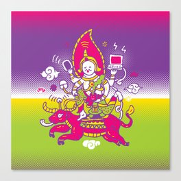 God of Wifi Canvas Print