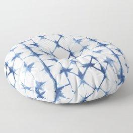 Shibori Thirteen Floor Pillow