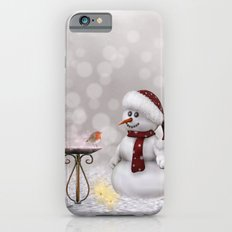 Robin and Snowman Slim Case iPhone 6s