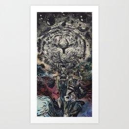 We Tigers Art Print