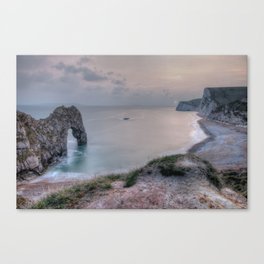 Sunset Landscape Canvas Print