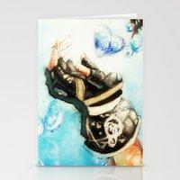 kingdom hearts Stationery Cards featuring Kingdom Hearts _ Sora  by KhalilKhalidy