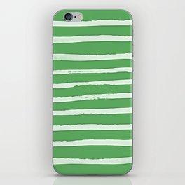 Simple Stripes - Fern iPhone Skin