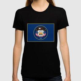 Utah State Flag - Authentic Version T-shirt