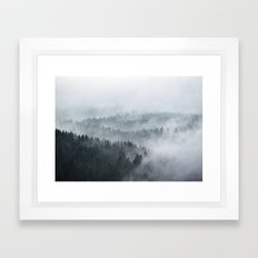 The Waves Framed Art Print