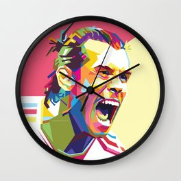Gareth Bale WPAP #4 Wall Clock