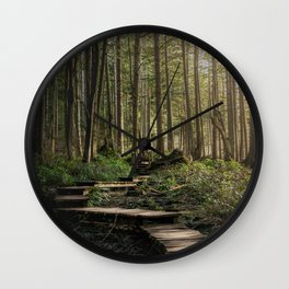 Adventure Nature Path Wall Clock