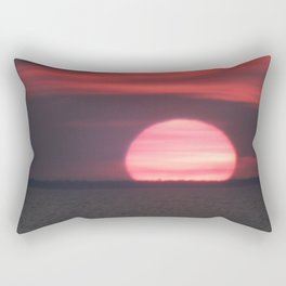 Aboiteau Beach Rectangular Pillow