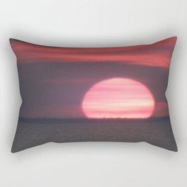 Sundown at Aboiteau Beach Rectangular Pillow