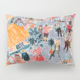 Columbia Road Flower Market Pillow Sham