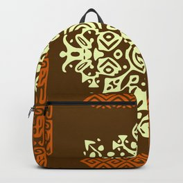 Ethnic Abstract Background Backpack