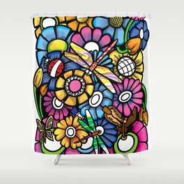 All that blooms Shower Curtain