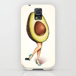 Avocado Girl iPhone Case