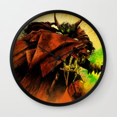 Hellspawn Wall Clock
