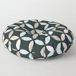 Art Deco circles design Floor Pillow