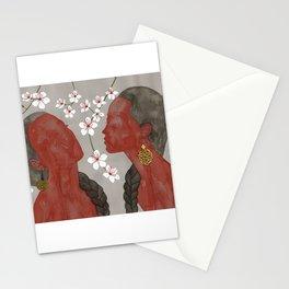 cherry blossom girls Stationery Cards