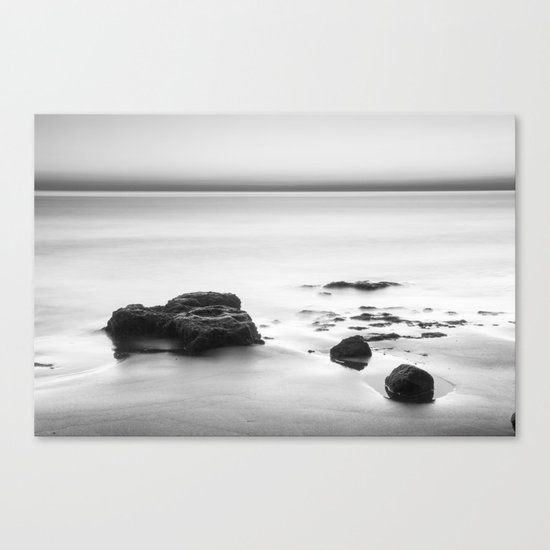 Looking at the sea... Canvas Print