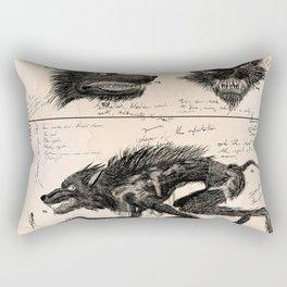 Flegellum de Bestia: Scourge Beast Rectangular Pillow