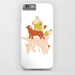 Tower of Dogs iPhone Case