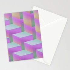 Fade Cubes II Stationery Cards