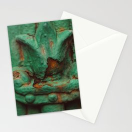 Rust on seaside Stationery Cards