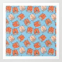 Pattern Project #48 / Lucky Bug Art Print