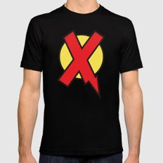 X-Statix Mens Fitted Tee Black LARGE