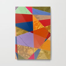 Abstract #337 Metal Print