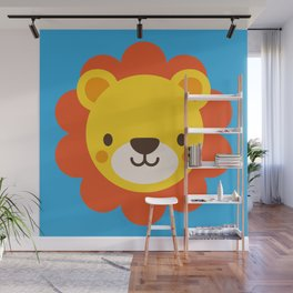 Lenny the Lion Wall Mural