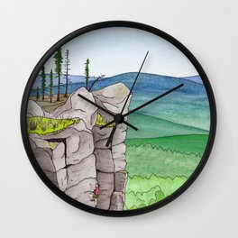 Explorer: The Heights Wall Clock