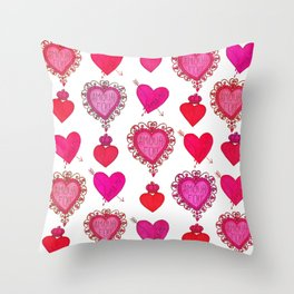L'amour fou Throw Pillow