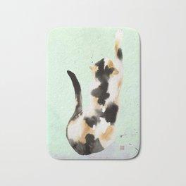Calico kitten Bath Mat