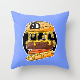 Fast Food FRENZY - Cheezy Tom Throw Pillow