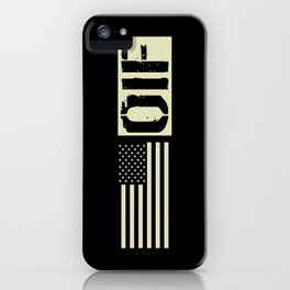 U.S. Military: OIF iPhone Case