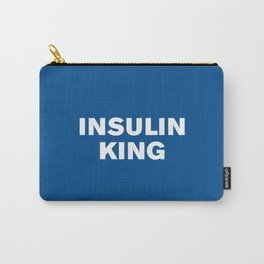 Insulin King (Lapis) Carry-All Pouch