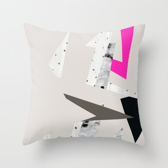 Abstract 08 Throw Pillow