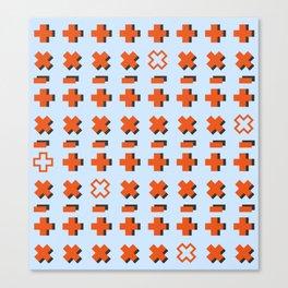 Math symbols Canvas Print