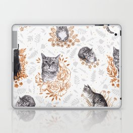 Le Chat Toile de Jouy Laptop & iPad Skin