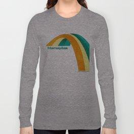 Mariaplan original artwork by Det mekaniska undret Long Sleeve T-shirt